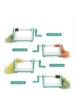 5 Blade Spiralizer Professional Vegetable Spiral Slicer new for Sale in Silver Spring, MD