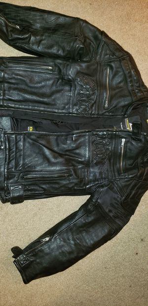 Scorpion Exo Skeletal protection leather mens jacket size M for Sale in Pflugerville, TX