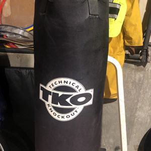 Everlast Technical knockout Punching Bag W/ Speed Bag for Sale in Deer Park, NY