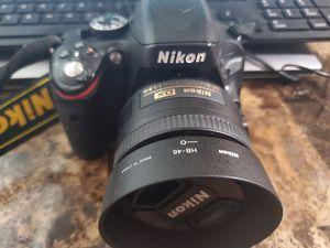 Nikon D5100 + f1. 8 35mm lenses +kit lenses for Sale in Morrisville, NC