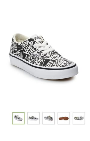 New in box vans shoes size 13 youth for Sale in Oak Lawn, IL