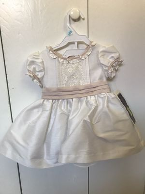 Baptism, Flower girl Ivory dress similar to Princess Charlotte for Sale in San Diego, CA