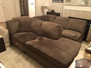 Couch and ottoman set for Sale in Issaquah, WA
