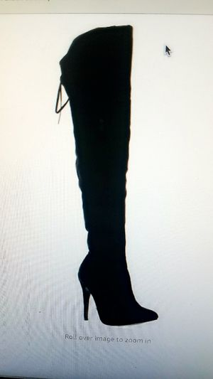 Thigh high boots size 10 for Sale in Tarpon Springs, FL