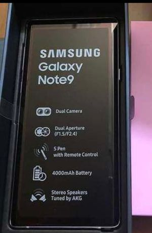 Samsung Galaxy Note 9 Unlocked. for Sale in Queens, NY