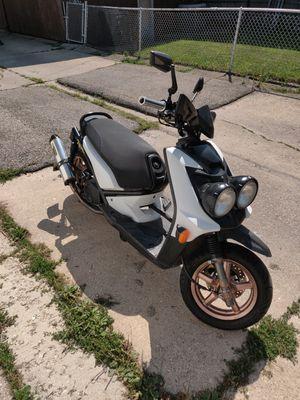 2009 Yamaha Zuma 125 bws125 125cc runs perfect clean title for Sale in Chicago, IL