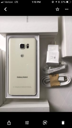 Samsung Galaxy note 5, excellent condition factory unlocked for Sale in VA, US