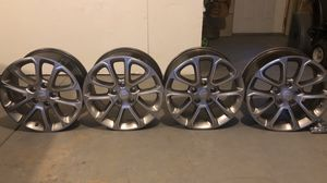 Set of (4) 2014-2018 Jeep Grand Cherokee Stock Rims for Sale in Evergreen, CO