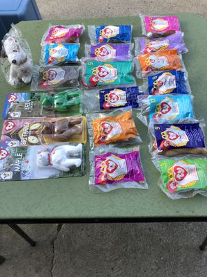 Ty beanie babies from McDonald's for Sale in Parma, OH