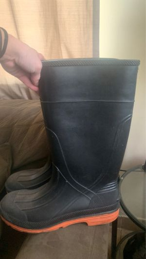 Heavy duty rain boots for Sale in Columbus, OH