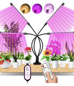 Plant Grow Light 4 Head Remote / Timer for Sale in Brooklyn,  NY
