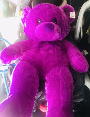 PURPLE BIG TEDDY BEAR 🧸 NEW for Sale in Upland, CA