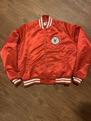 Vintage chalk line satin Fresno state jacket for Sale in Fresno, CA