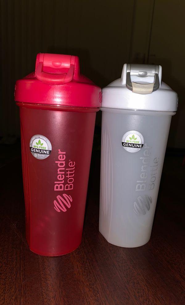 20 oz Blender Bottles with Shaker