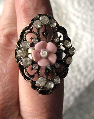 Adjustable Rose Pink Ring for Sale in Parkville, MD