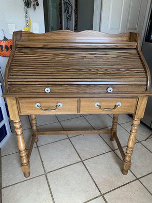 Roll top secretary desk for Sale in Hemet, CA