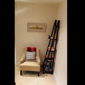 A Frame Shelf Ladder Bookcase 5 Shelves for Sale in Mercer Island, WA