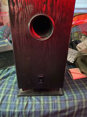 Onkyo. Powered Subwoofer for Sale in Keizer, OR