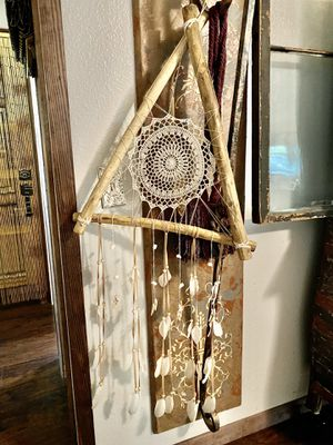 Large handmade Dreamcatcher with feathers for Sale in Palm Harbor, FL