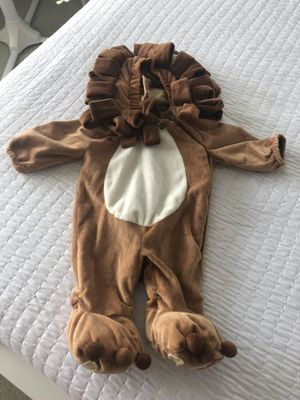 0-6 Month Lion Halloween Costume for Sale in Chesapeake, VA
