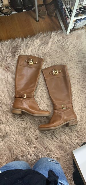 Michael Kors Leather Boots for Sale in San Pablo, CA
