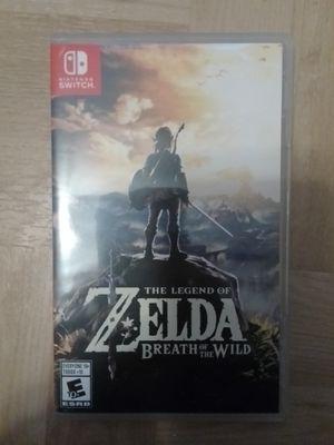 Zelda breath of the wild switch for Sale in Wauchula, FL