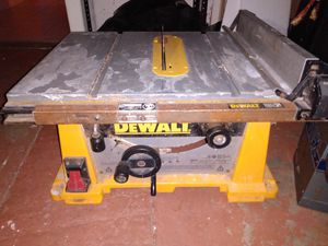 Dewalt table saw for Sale in Fort Myers, FL