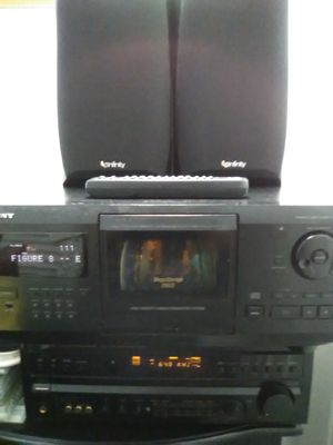 Receiver/ CD Player/ speakers for Sale in Anaheim, CA