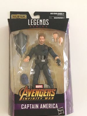 Marvel Legends Series Avengers Infinity War 6-inch Captain America for Sale in San Diego, CA