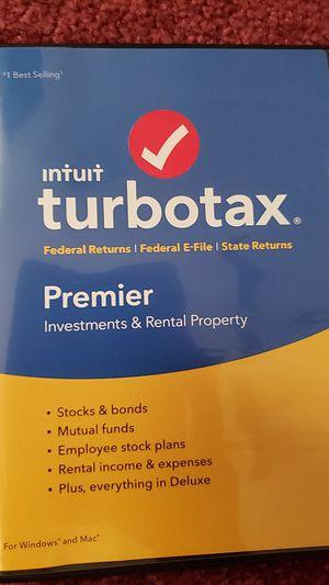 Turbo tax premier 2018 for Sale in Anaheim, CA