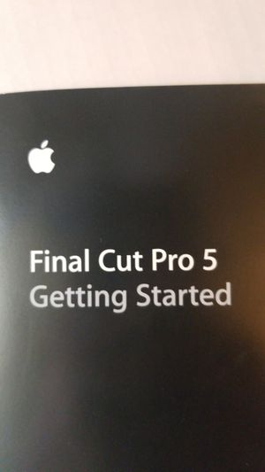 Apple Pro 5 Manual 2005 for Sale in Brunswick, GA