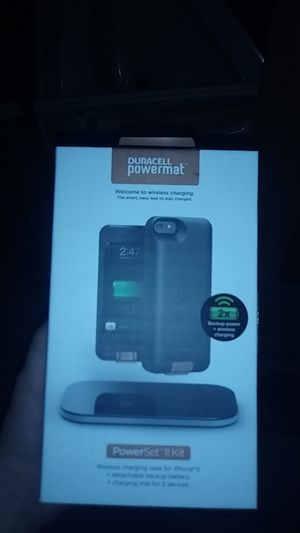 Duracell powermat iphone 5 for Sale in US