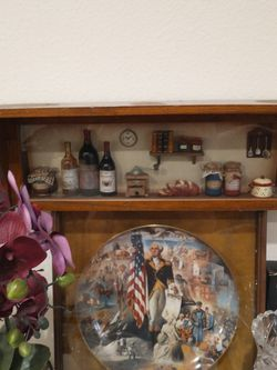 Framed George Washington Plate for Sale in Lewisville,  TX