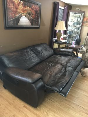 Recliner Sofa Italian Leather 225 Or Best Offer For In Rochester Ny