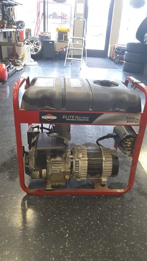 Briggs and Stratton elite series 5500 watts portable generator for Sale in Kansas City, KS