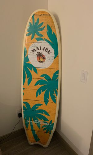 Malibu Surfboard - 6.5 feet long for Sale in Tempe, AZ