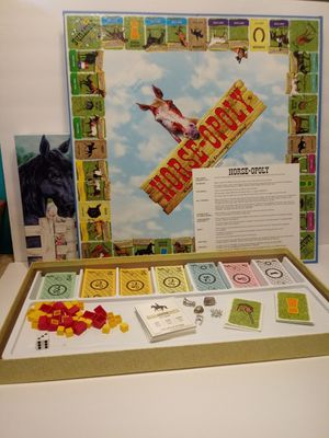 Horse opoly board game for Sale in NEW PRT RCHY, FL