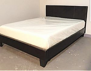 BRAND NEW FULL SIZE BED AND MATTRESS (FREE DELIVERY) for Sale in Oklahoma City, OK