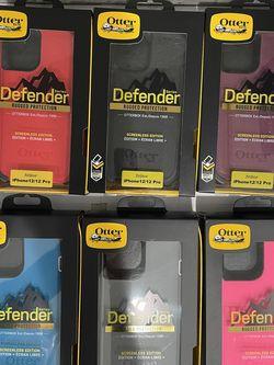 Brand new Otterbox Defender phone case with belt clip for iPhone 12, iPhone 12 Pro, iPhone 12 pro max for Sale in Montebello,  CA