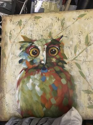 Owl painting absolutely beautiful and huge for Sale in Nashville, TN