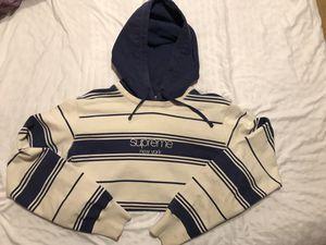 Supreme Stripe Hoodie for Sale in Goodyear, AZ