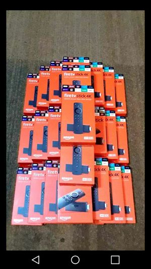 *UNI0CKED* Amazon Fire TV Stick With Voice Alexa (3rd Gen. NEW RELEASE)🔥O for Sale in Pasadena, TX