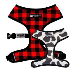 "XLarge Frenchie ""Lumberjack"" Duo Reversible Dog Harness for Sale in El Cajon,  CA"