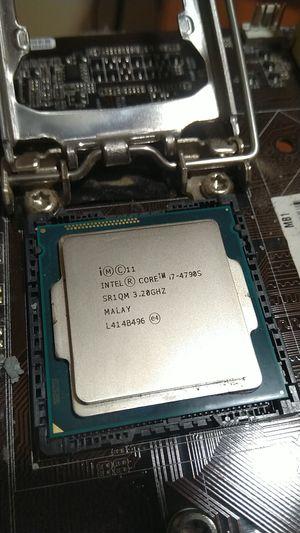 Intel i7-4790s CPU for Sale in Miami, FL