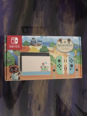 Nintendo switch animal crossing Limited edition for Sale in Rialto, CA