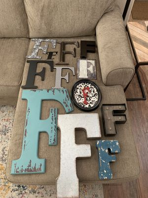 """What the """"F""""? 12 Decretive Letter F's for Sale in Las Vegas, NV"""