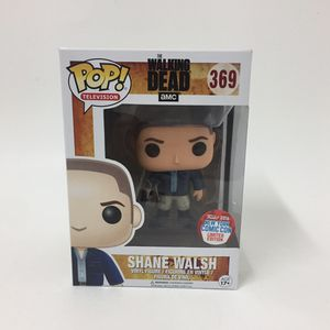Funko pop the walking dead amc Shane Walsh vinyl figure New York comic con limited edition 2016 for Sale in Los Angeles, CA