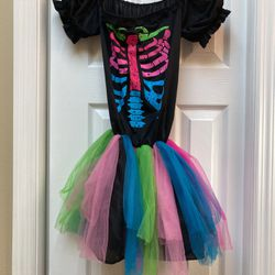 Skeleton Halloween Costume (girls Size 10/12) for Sale in Tampa,  FL