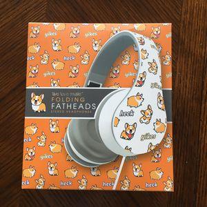 NWT folding fathead headphone for Sale in Cordova, TN
