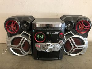 Panasonic CD Stereo System 5 CD Changer SA-AK520 267WATT for Sale in Los Angeles, CA
